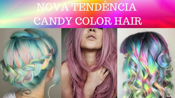 Nova Tendência – Candy Color Hair
