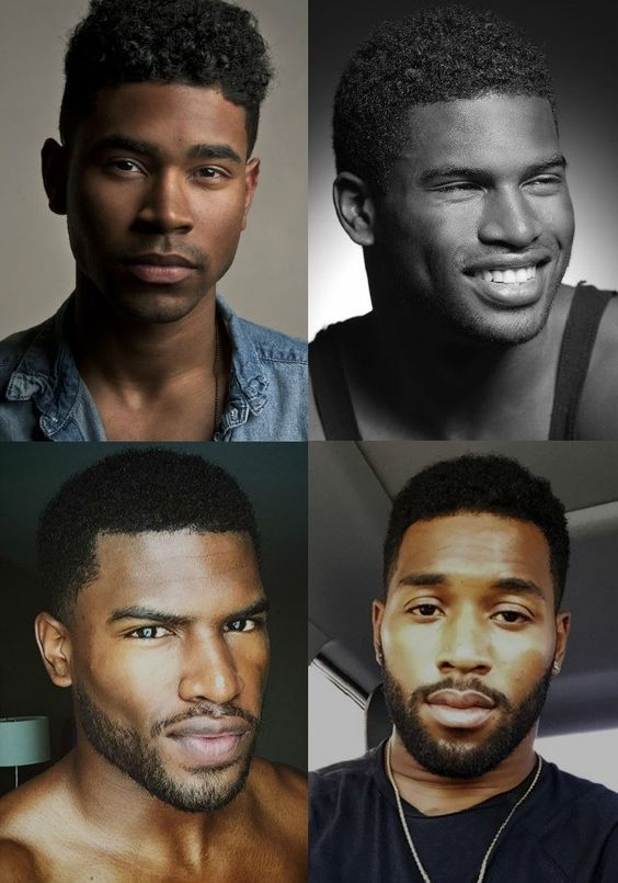 corte de cabelo masculino afro