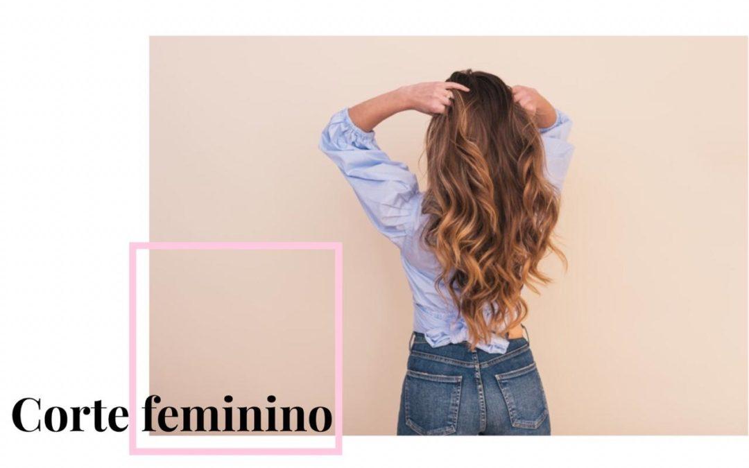 Corte de cabelo feminino longo
