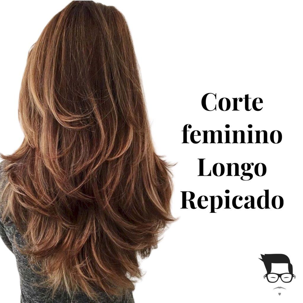 cabelo feminino longo repicado