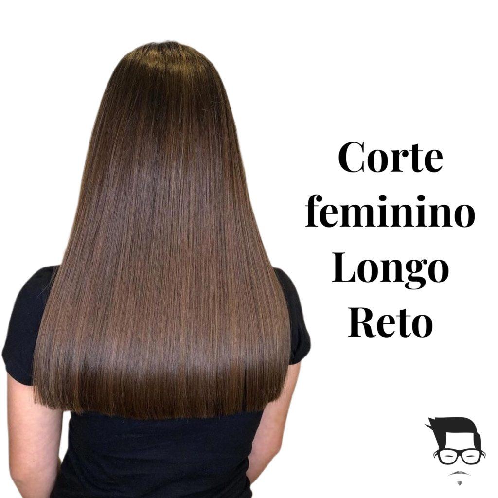 tipos de corte de cabelo feminino longo reto