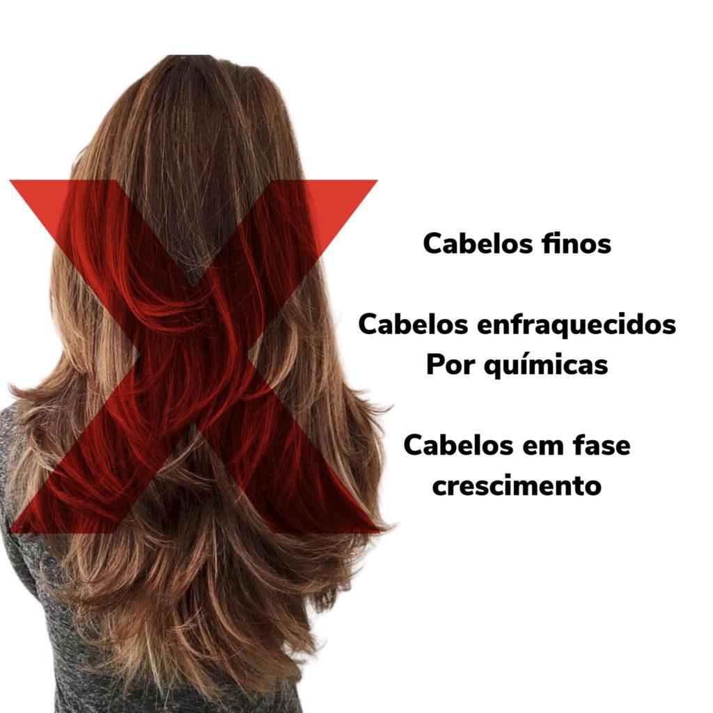 cabelo feminino longo repicado quem não deve fazer