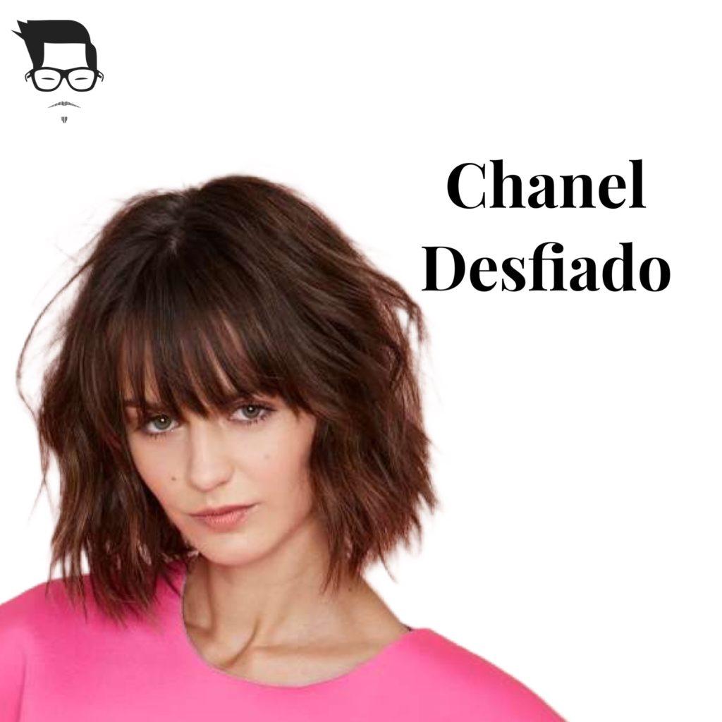 corte de cabelo feminino desfiado chanel desfiado