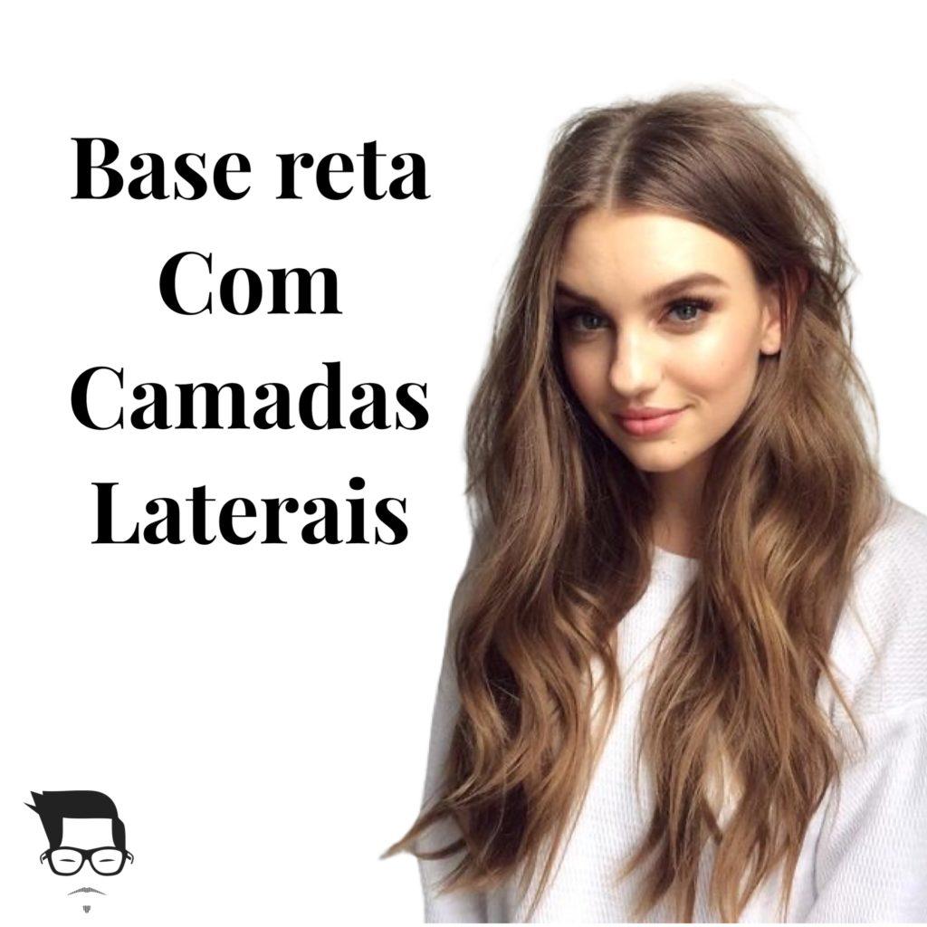 corte de cabelo feminino longo reto com camadas