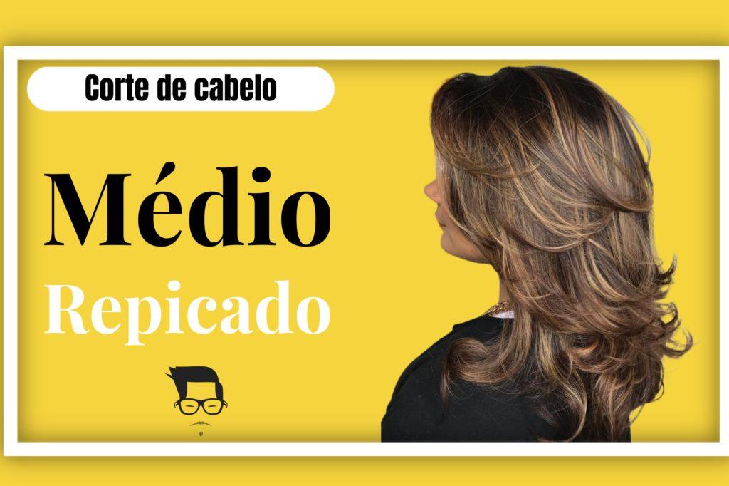 corte de cabelo feminino médio desfiado repicado