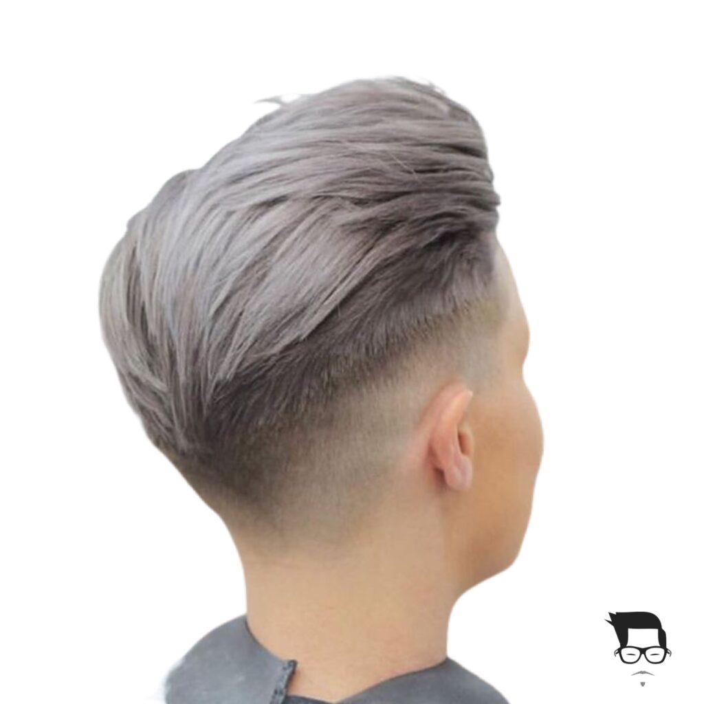 corte de cabelo curto moderno fade cut feminino