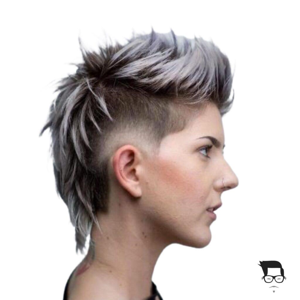 corte de cabelo curto moderno