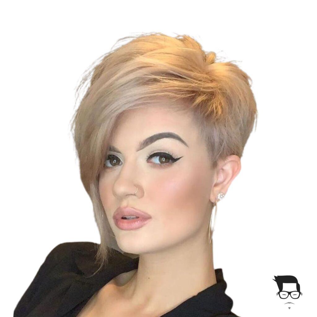 corte de cabelo curto moderno undercut