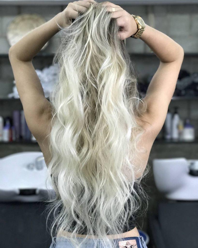 tons de cabelo - loiro manteiga