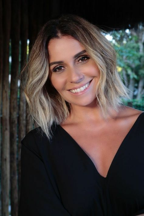 O novo corte de cabelo da Giovanna Antonelli