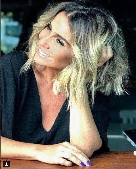 nova cor de cabelo da Giovanna Antonelli