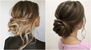 Penteados para Formatura Bolo Elegante