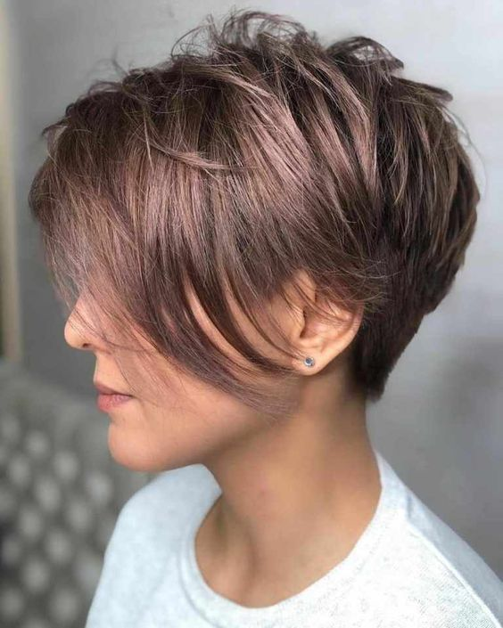 melhor corte de cabelo corte pixie