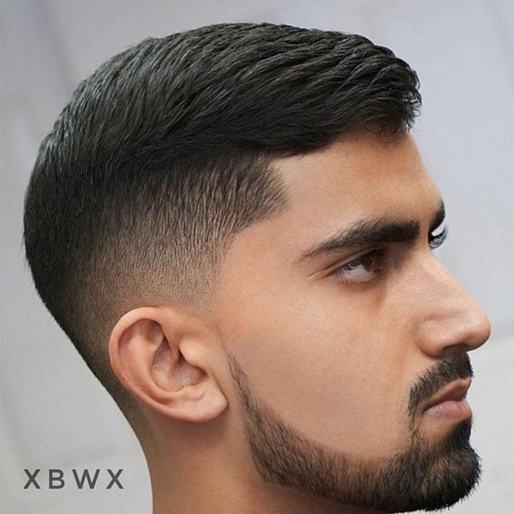 corte de cabelo masculino para o trabalho topete lateral