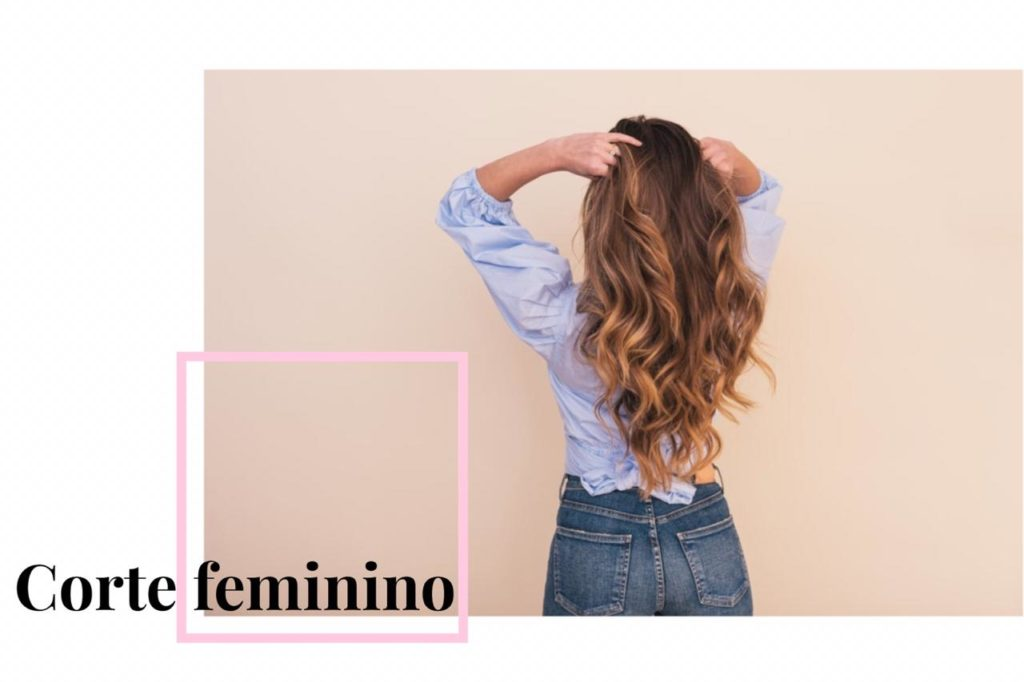 corte feminino longo