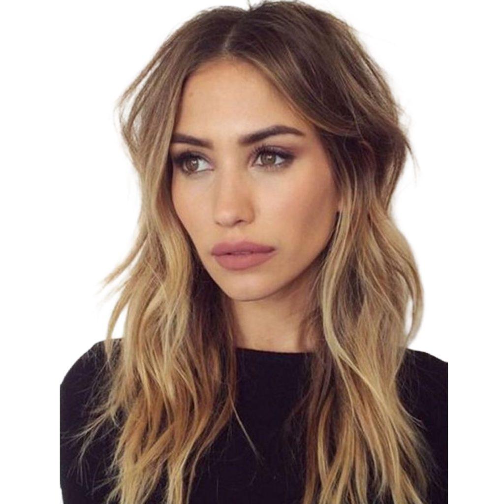 corte de cabelo feminino longo desfiado