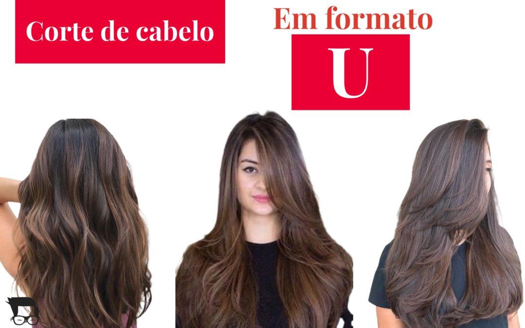 Corte de cabelo feminino longo  U