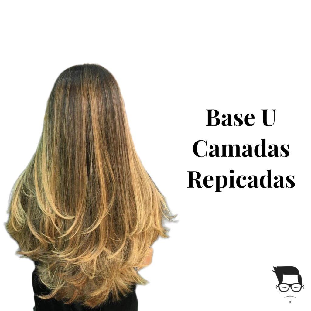 cabelo feminino longo repicado base u