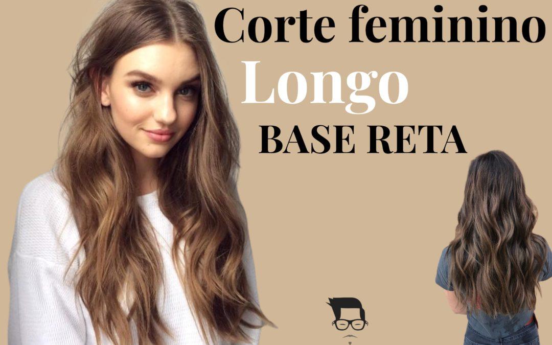 Corte de cabelo feminino longo reto