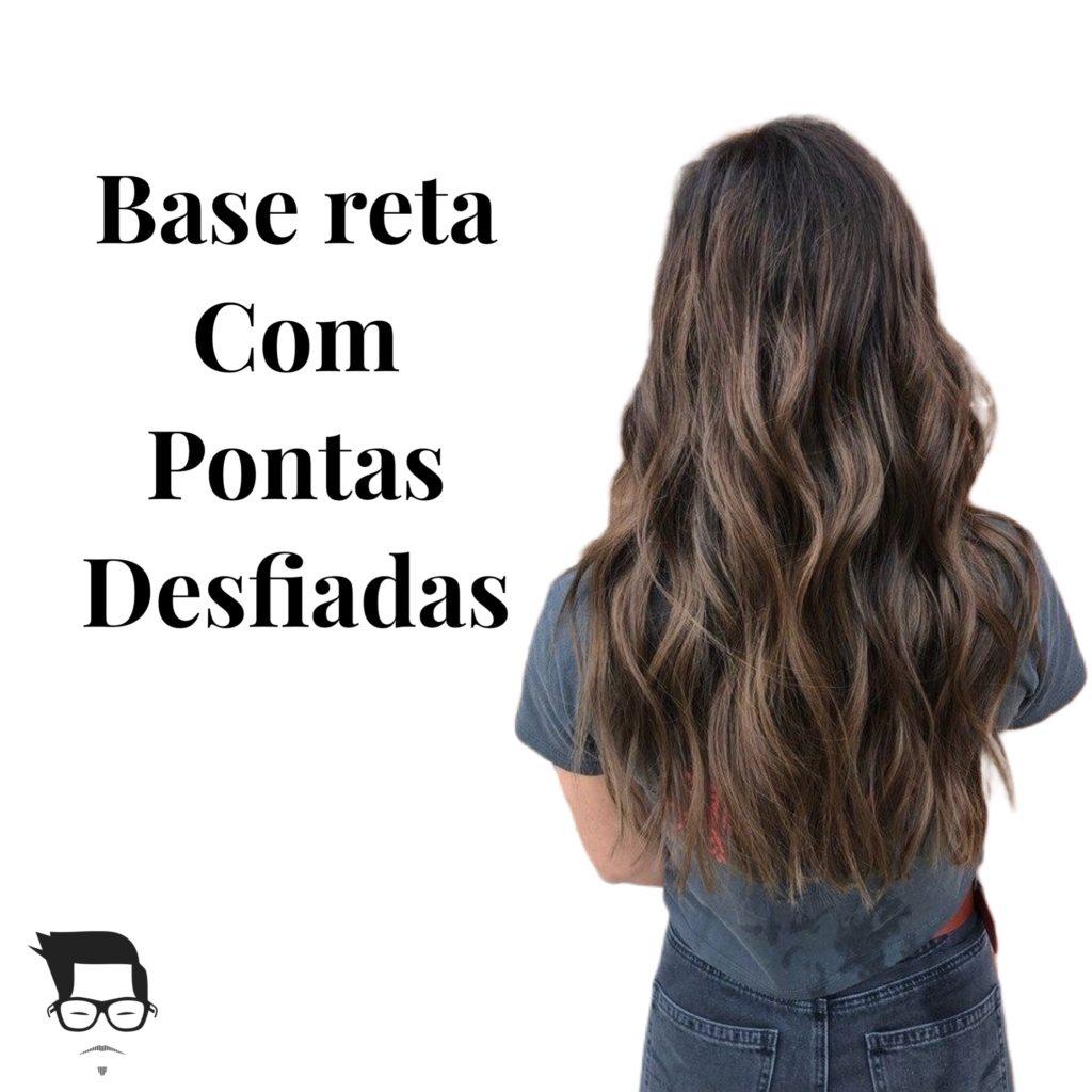 corte de cabelo feminino longo reto desfiado