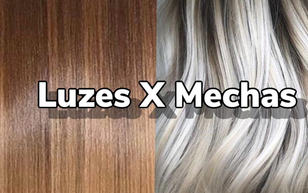 Luzes no cabelo, qual a diferença entre luzes e mechas?